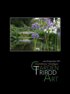 Artist Joy Watson Published In Online Magazine Garden Tripod Art